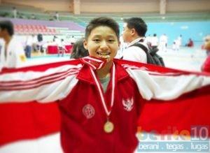 Christopher Edbert, Atlet Karate Asal Pati Harumkan Indonesia