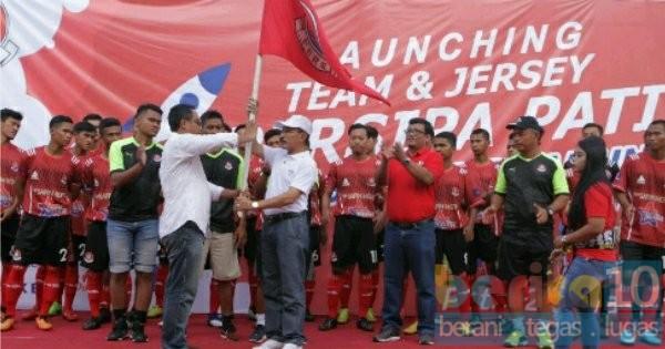 Launching Team Dan Jersey Persipa Mantapkan Kompetisi Liga