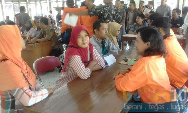 Ratusan Peserta Ikuti  Seleksi Pengawas TPS Pilgub Jateng