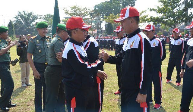 Kontingen Kodam IV/Diponegoro Siap Berlaga di PORAD VIII 2018