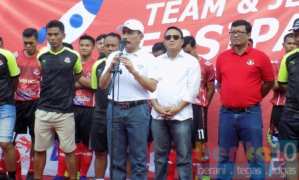 Launching Jersey Persipa, Inilah Wejangan Bupati Pati Haryanto
